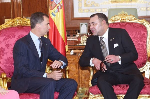 King Felipe and King Mohammed VI. Catalonia