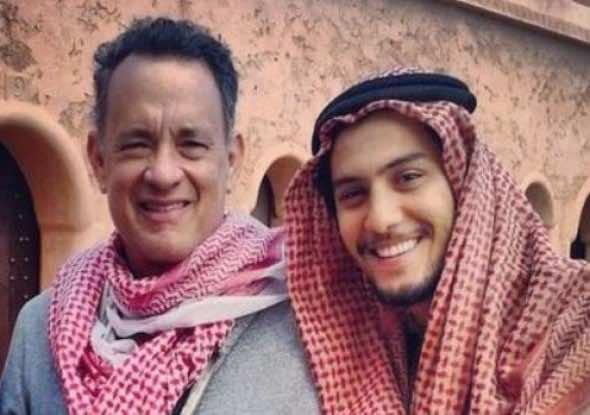 Tom Hanks in Morocco