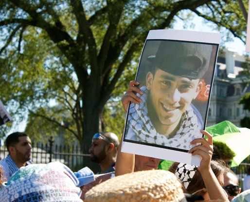 Washington- Demonstrators Denounce Israel's Collective Punishment Against Palestinians