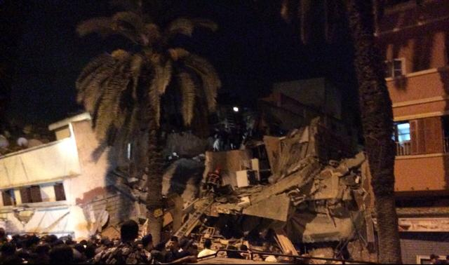 a building collapsed on Friday morning in Casablanca