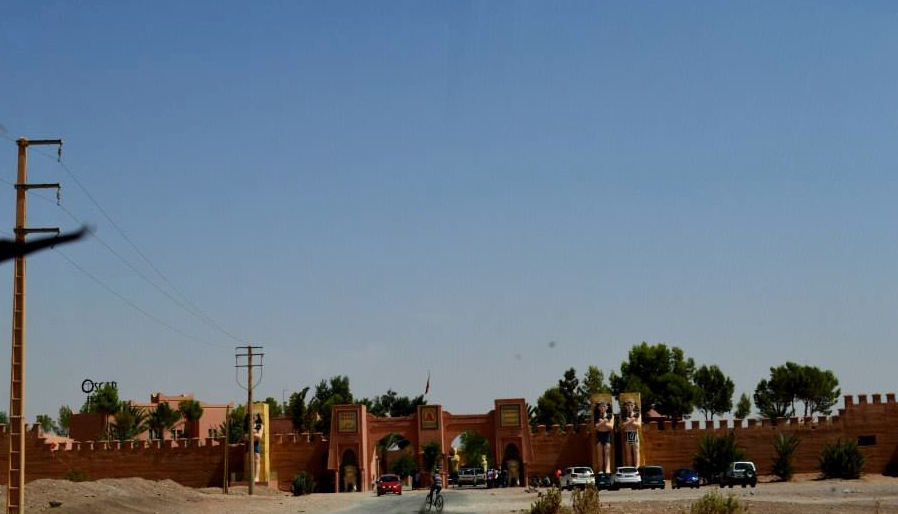 Film production in Ouarzazate- Photo By Genesis Melgar for Morocco World News