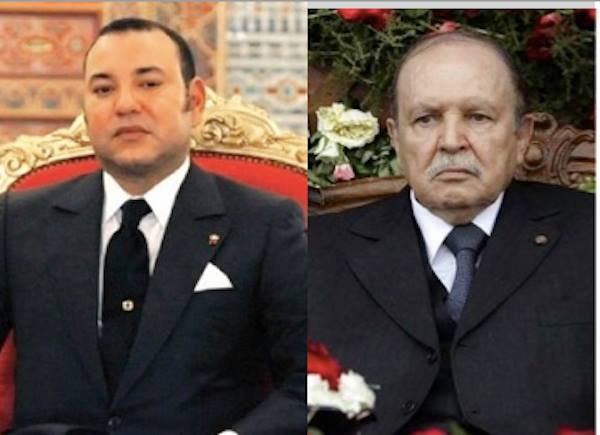 King Mohamed VI of Morocco. Abdelaziz bouteflika of Algeria