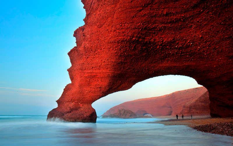 Moroccan Legzira Beach Among the World's Most Beautiful Beaches