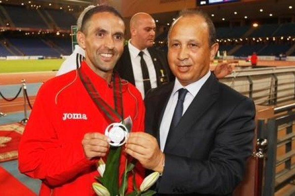 Mustapha El Aziz Offers Morocco 1st medal in African Athletics Championships