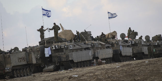 The Israeli Defense Force IDF in Gaza