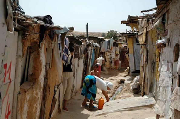 How Sustainable is Morocco's Cities Without Slums Program? the slums of Sidi Moumen