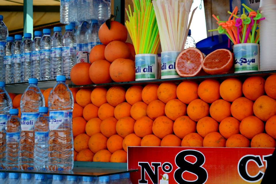 Fresh Orange Juice in Marrakech