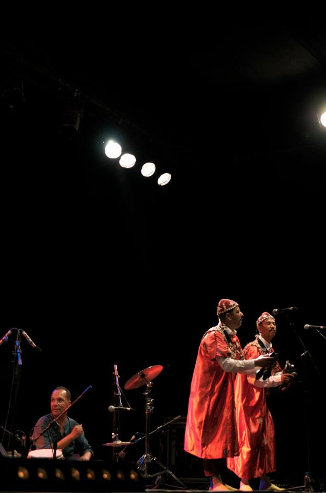 Jazz au Chellah in Rabat, Morocco with Gnaoua Music