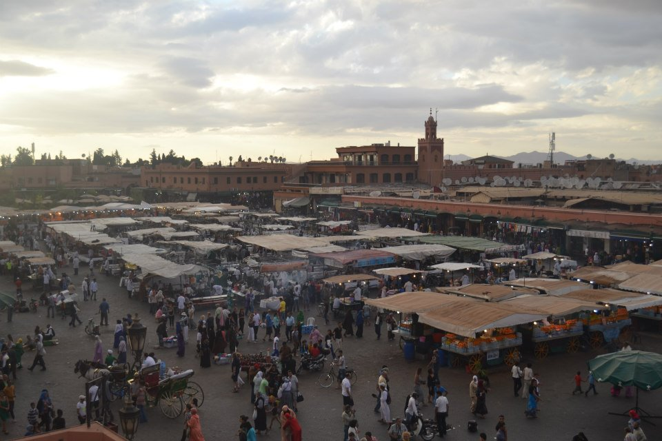 Marrakech Jamaa El Fenna. Photo by Morocco World News