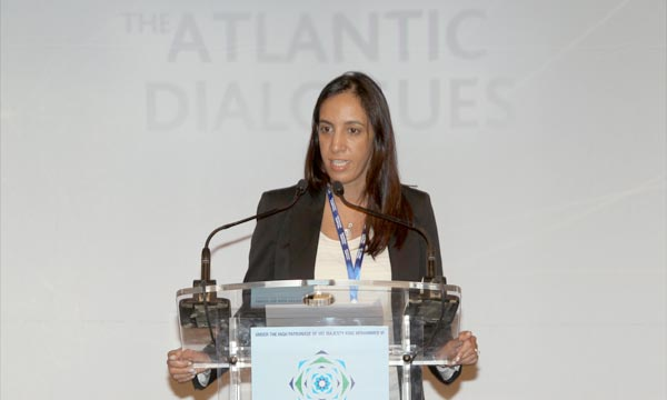 Minister Delegate for Foreign Affairs, Mbarka Bouaida