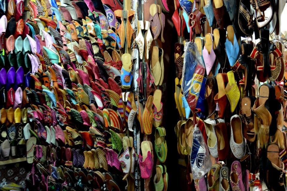 What about some Moroccan Slippers [Babouch] that serves all tastes?