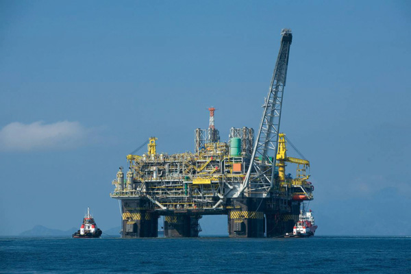 Oil exploration offshore in Morocco