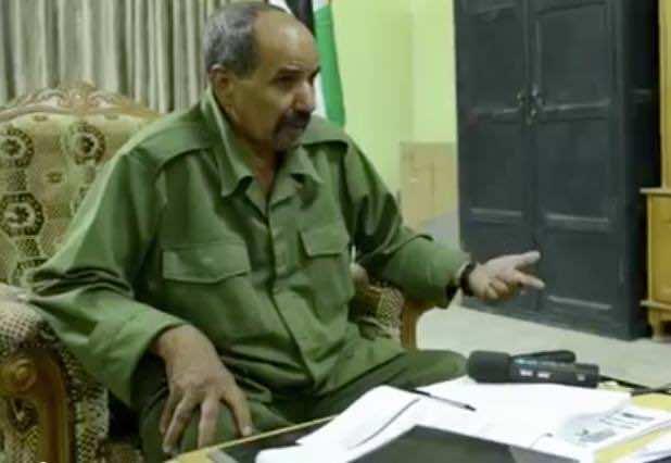 Polisario Leader