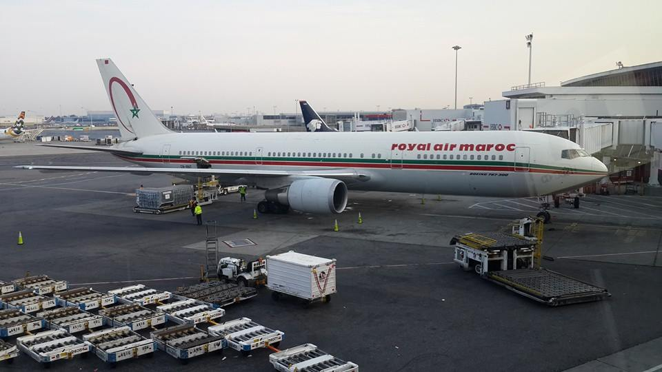 Royal Air Maroc. Photo by Genesis Melgar