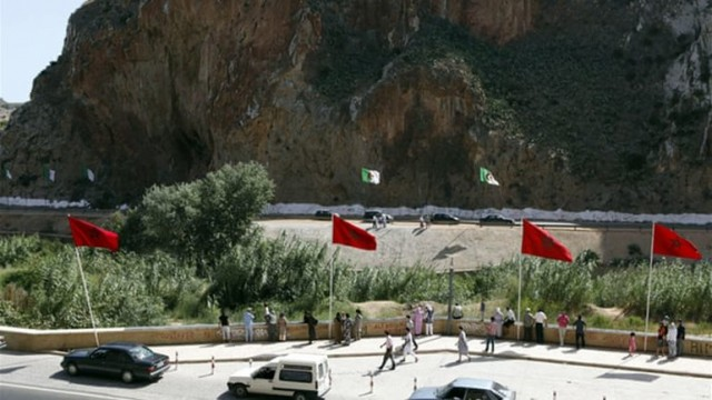 Algeria going mad on the border with Morocco