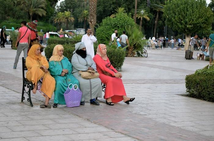 Moroccan women in Rabat