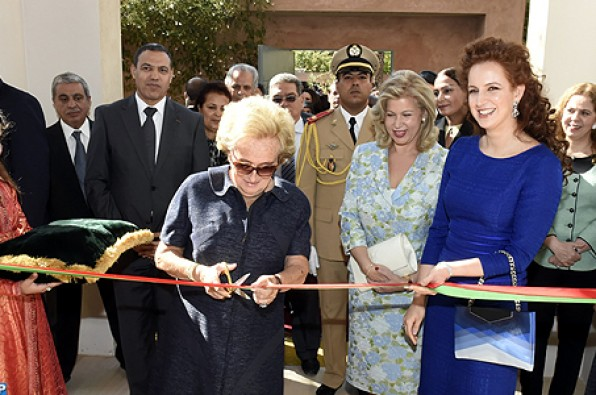 Princess Lalla Salma Inaugurates 'House of Life' to Accommodate Oncology Patients