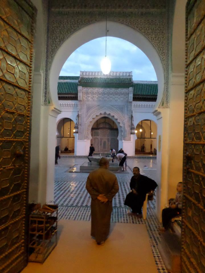 al qarawiyyin university in Fez, Morocco
