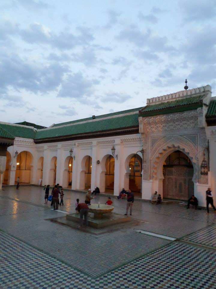 al qarawiyyin university, in Morocco