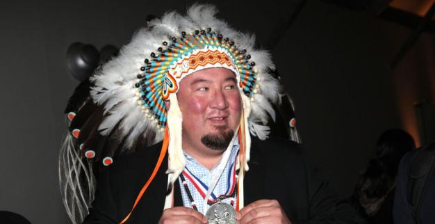 Grand Chief Derek Nepinak, head of the Assembly of Manitoba Chiefs