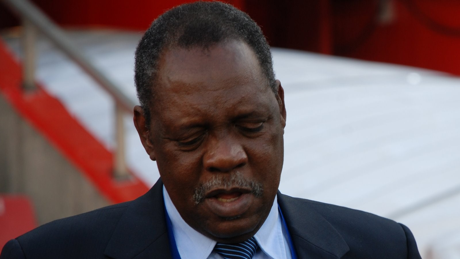 Issa Hayatou, President of the African Football Confederation