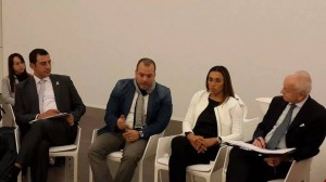 Moroccan Yassine Isbouia at UN Global Forum in Baku