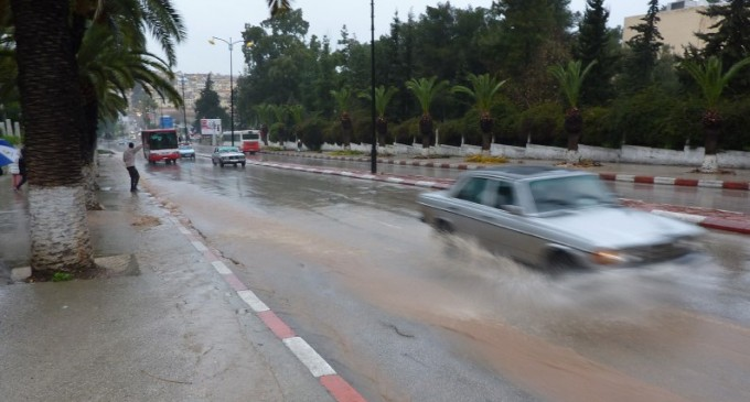 Cloudy Friday, Rainy Weekend Ahead in Morocco, Snow in Atlas