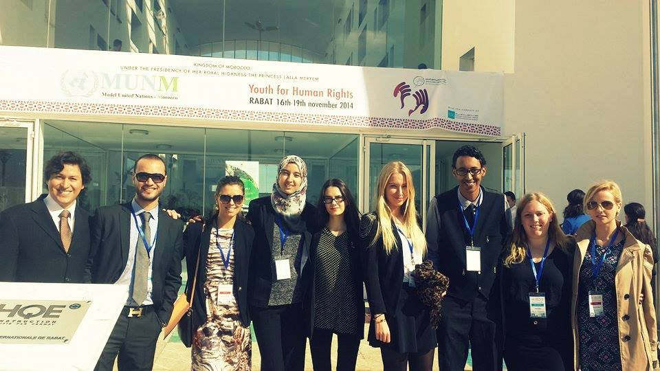 Rabat Holds Model United Nations in Africa