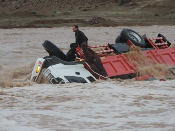 Three Dead, 12 Missing Due to Floods in Southern Morocco