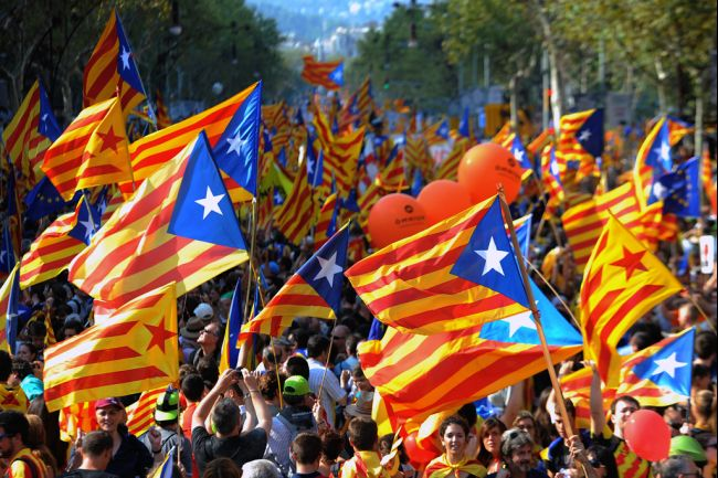Spain Catalonia Independence Rally September 11, 2012