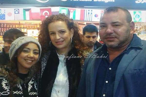 King Mohammed VI and Lalla Salma