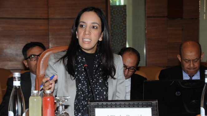 Minister Delegate to the Foreign Minister, Mbarka Bouaida