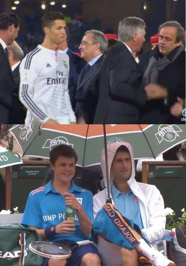 Novak Humility vs Ronaldo's Arrogance