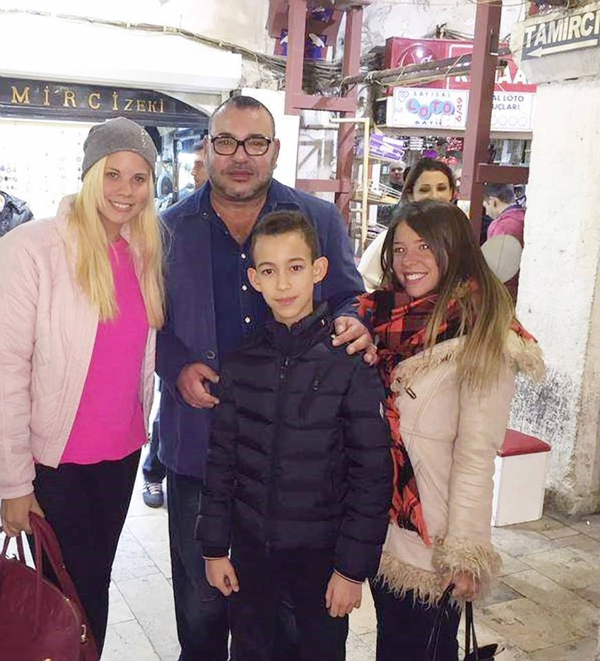 Picture of King Mohammed VI and Crown Prince Moulay El Hassan Goes Viral