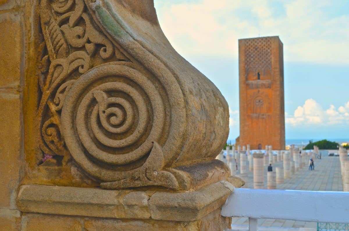 Rabat, Hassan Tower. Tourism