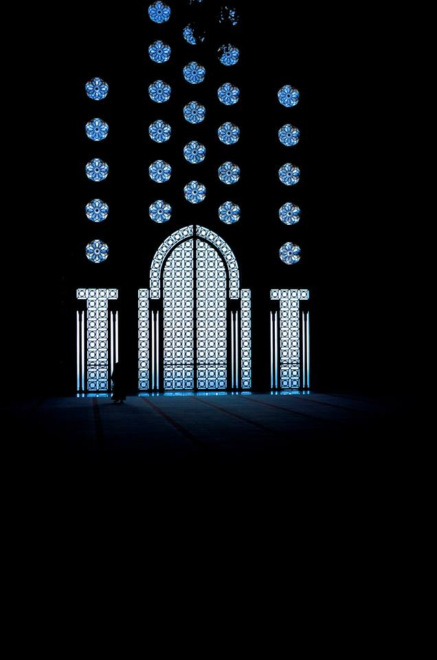 The Grand Mosque of Casablanca. Photo by Jack Stanovsek/MWN