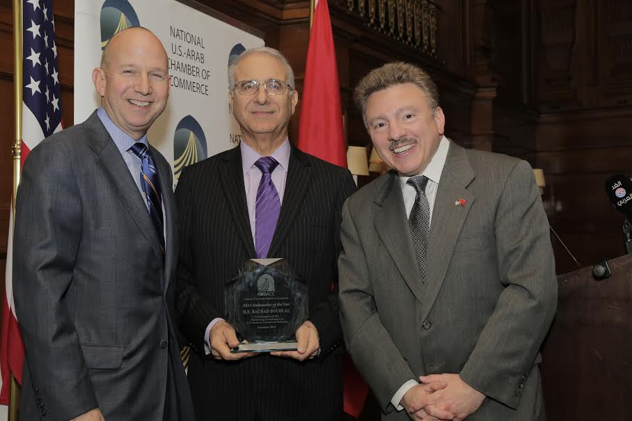 With Governor Markell of Delaware and David Hamod of NUSACC - Photo Credit NUSACC