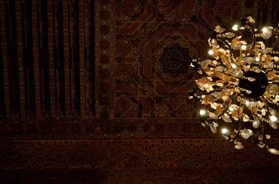 fez fes morocco. tourism in maroc. chandelier