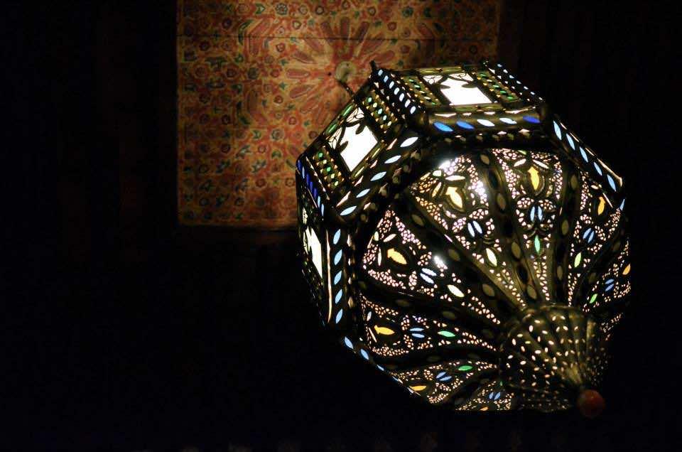 fez fes morocco. tourism in maroc. chandelier