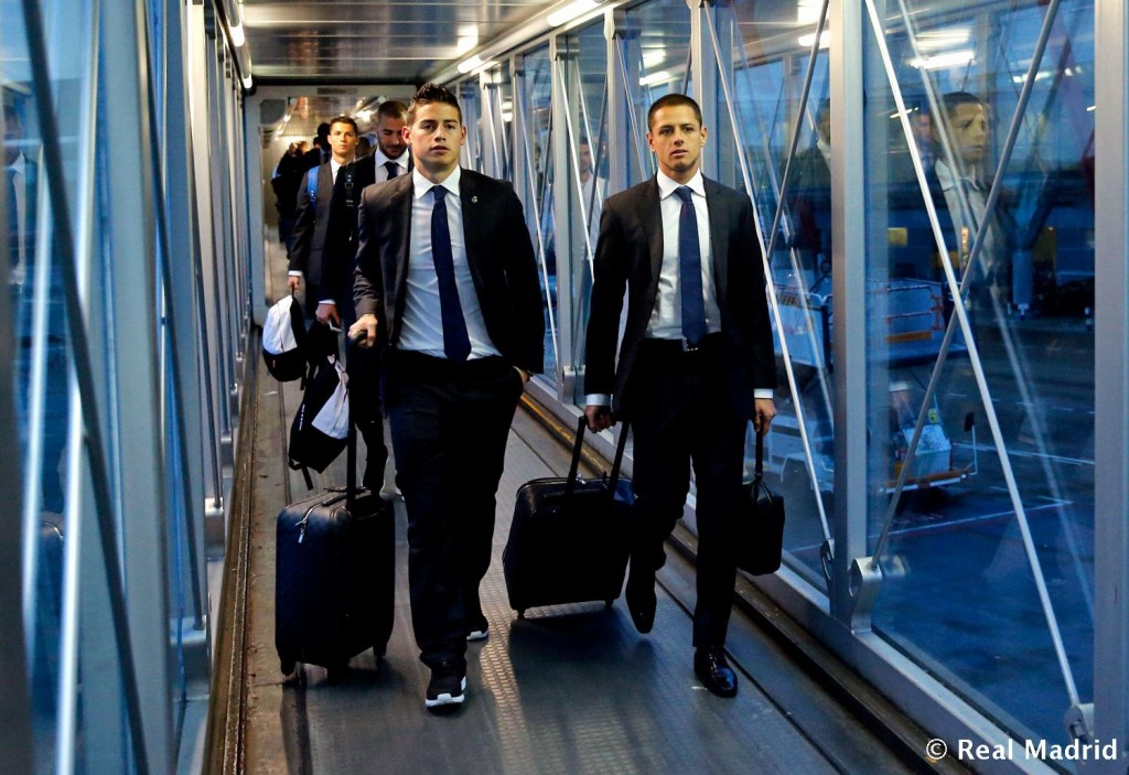 real madrid at arrival