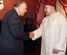 King Mohammed VI Receives Egyptian FM