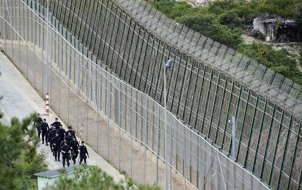 Morocco' Borders With Ceuta and Melilla
