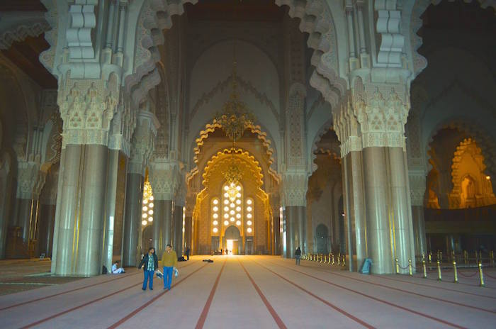 The Grand Mosque of Hassan II in Casablanca Morocco