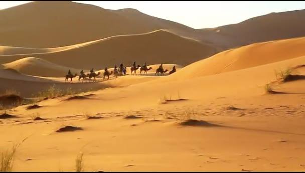 The Stunning Beauty of Merzouga, Morocco