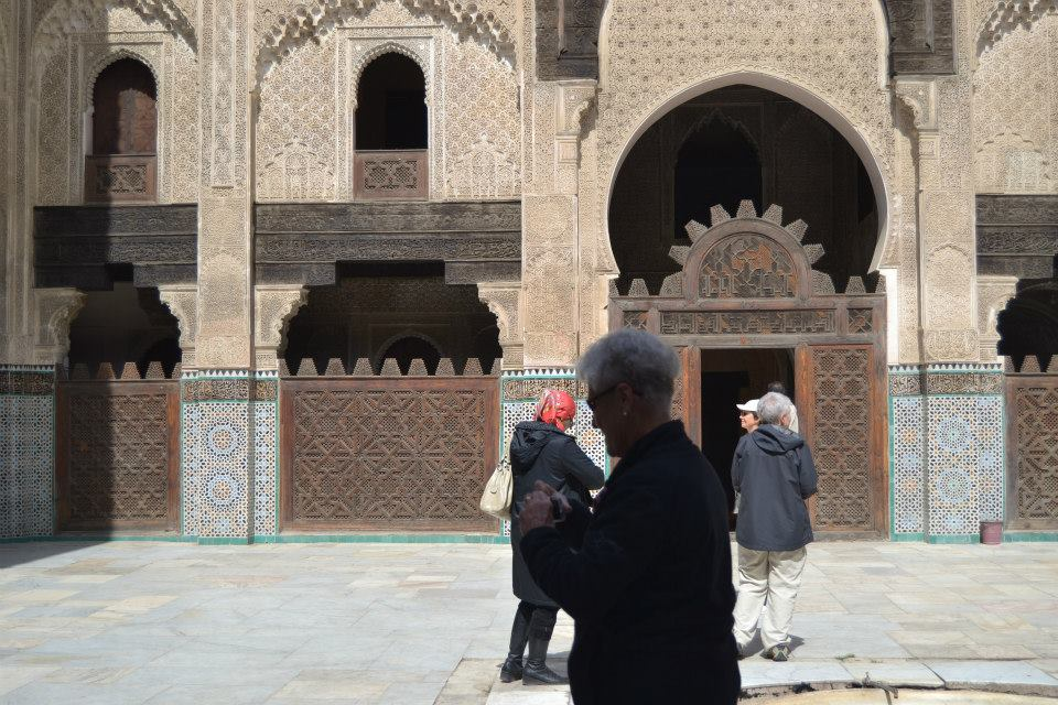 Tourism in Morocco, Photo from Nou Inania Mosque in fez