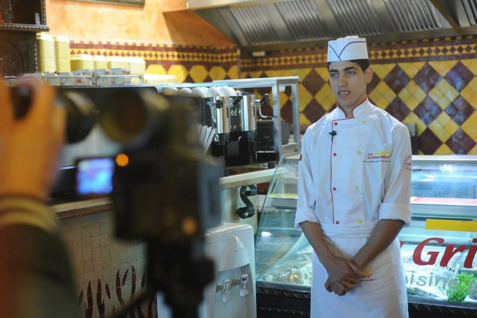 Yassine benefits from the BC programme and is currently working at La Grillardière