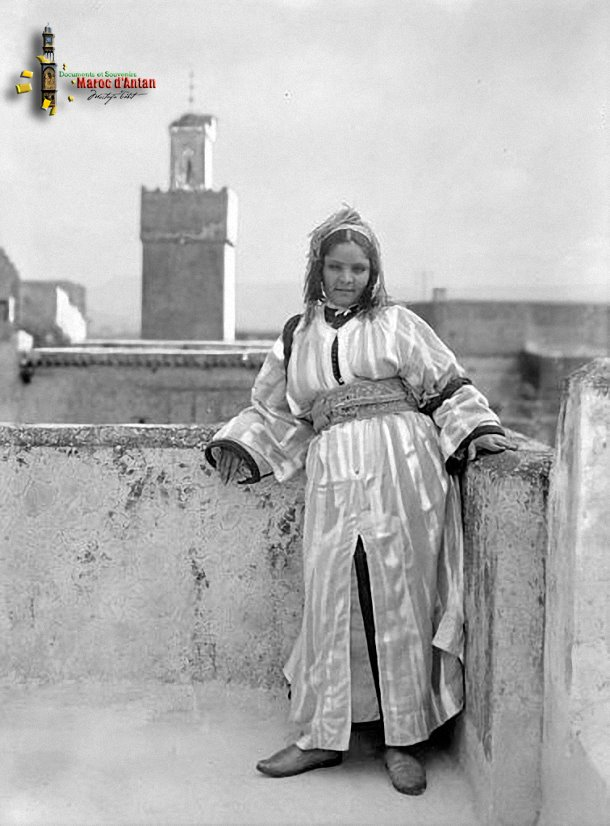 A woman from Fes in 1925