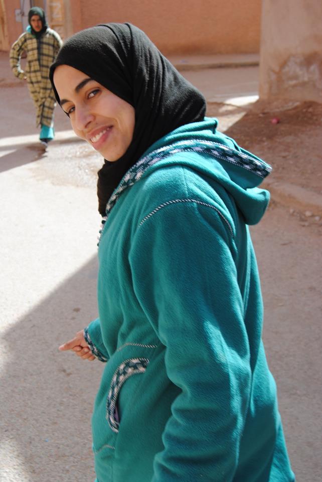 Moroccan woman in Hijab