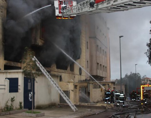 Blaze rips industrial unit in Casablanca 4