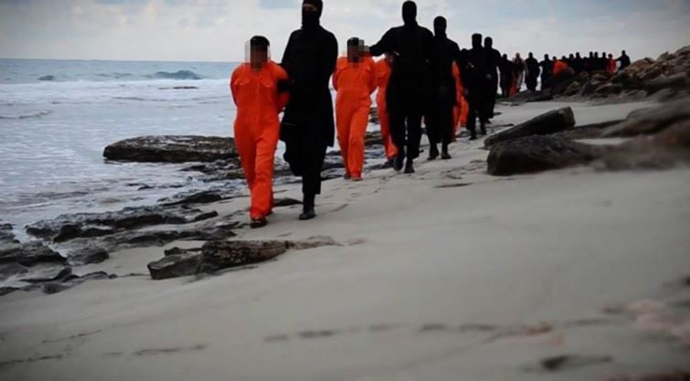 Brutalities of Islamic State's new version released; releases video of beheading 21 Egyptians in Libya